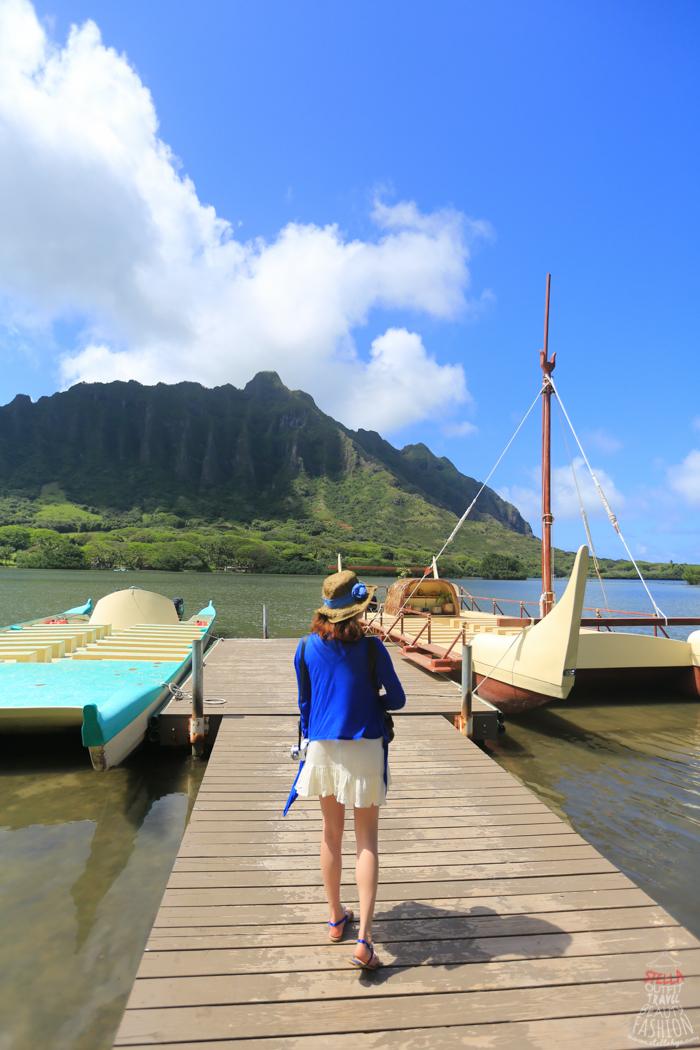 【夏威夷-歐胡島】跟上侏羅紀風潮,古蘭尼牧場+玻里尼西亞文化村+必逛的Waikele Premium Outlets