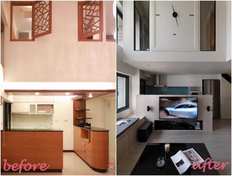 【HOME】新家開箱囉!!我們的甜蜜簡約美式宅(樓中樓4米5)♥︎♥︎