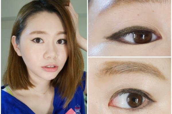 【妝容】WinkO葳珂 愛,來了持色眼線膠筆,快速完成簡易眼妝,超快乾防水防暈染唷!!