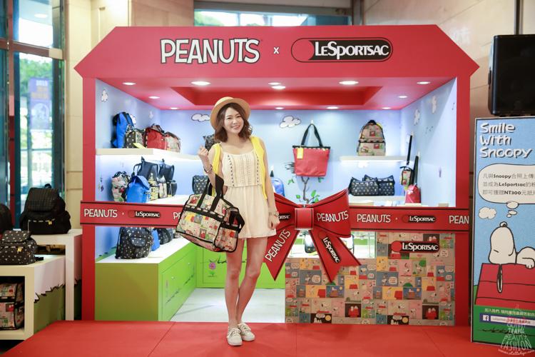 【活動】歡慶Snoopy 65週年,超可愛Peanuts x LeSportsac快閃店,好多Snoopy呀!!