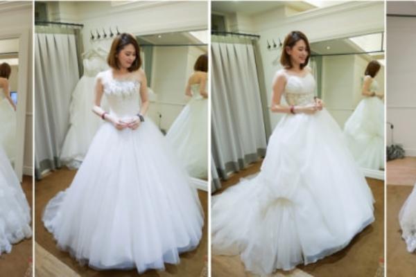 【2015沖繩海外婚禮】超貼心的鏡面婚紗試穿,究竟哪套好?