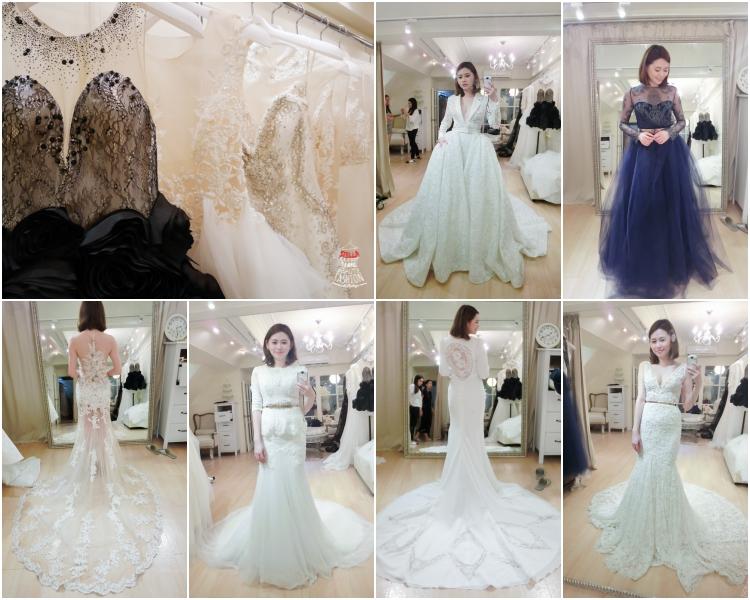 【婚紗】就是要JE WEDDING。絕美夢幻古董珠工蕾絲婚紗10套試穿分享