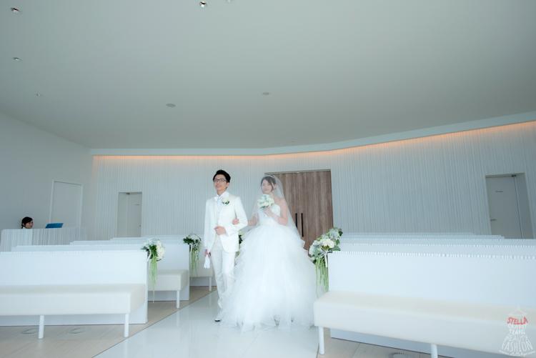 【2015沖繩海外婚禮】夢幻證婚當天的儀式流程分享。7小時輕鬆完成洽談、梳化、拍婚紗照、結婚典禮