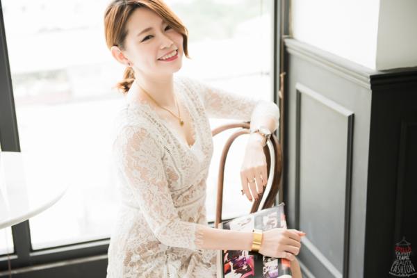 【穿搭】在韓貨Puree,找到前所未見,最美最顯瘦的超精緻蕾絲洋裝