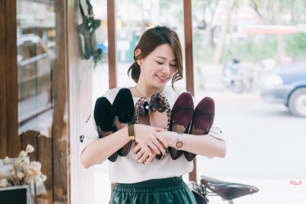 【鞋】矮個子女孩也能駕馭平底鞋~3雙Ophelie平底鞋x5個穿搭look