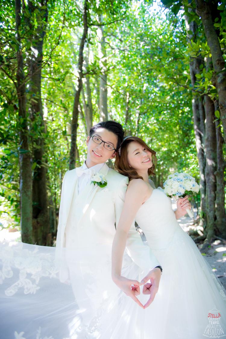 【2015沖繩海外婚禮】超喜歡的「歐美清新自然可愛」海外婚紗分享
