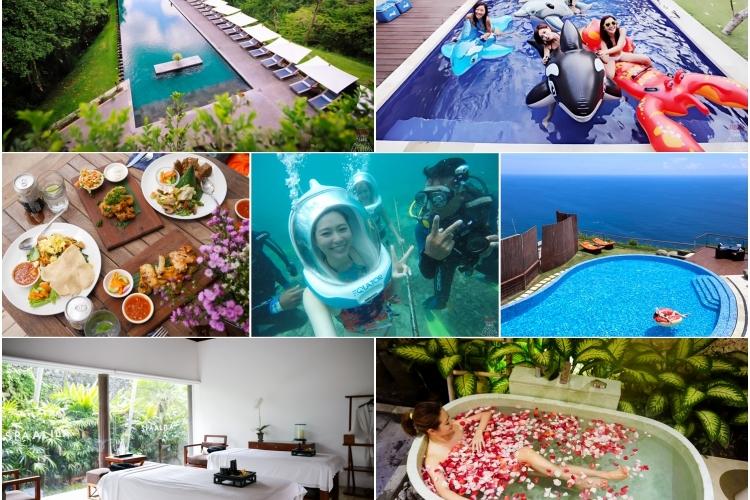 【峇里島】閨蜜之旅8天7夜總行程與行前注意事項,悠遊藍夢島、SPA放鬆、下午茶美食、私人Villa BBQ Party♥︎