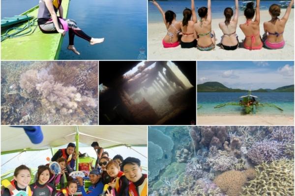 【菲律賓。科隆島】必去浮潛景點I→盧松砲艦沈船、帕斯島、珊瑚花園、東沈船