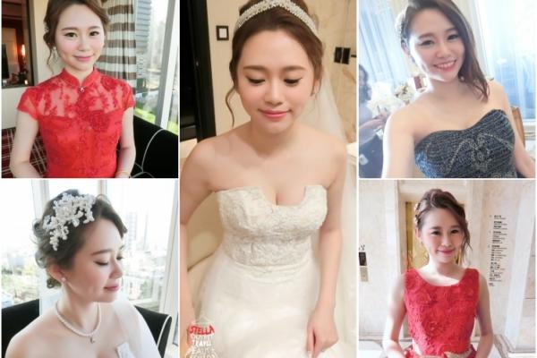 【Wedding】大推薦!!我的超強新秘,訂婚結婚宴客5造型,透亮大方又優雅