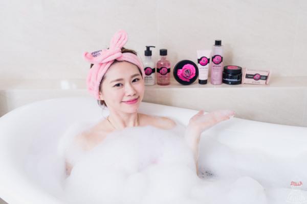 【保養】小女人的淡雅清香,The Body Shop英皇玫瑰嫩膚沐浴保養系列