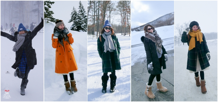 【2016北海道】賞雪怎麼穿?零下-16度的雪國5日保暖時尚穿搭