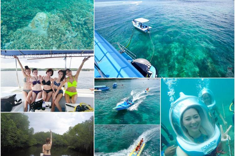 【峇里島】藍綠色天堂:藍夢島Lembongan,水上活動超好玩的