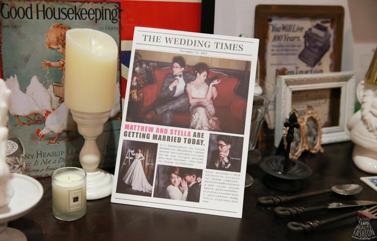 【Wedding Newspaper】我的完美歐美風婚禮日報分享♥︎♥︎(愛婚享)