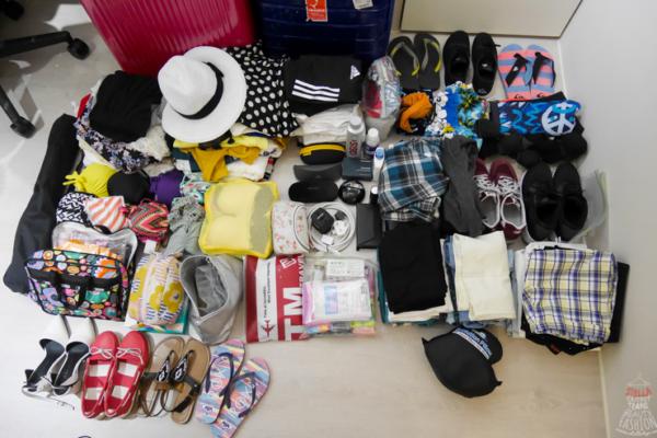【蜜月行李帶什麼?】杜拜+馬爾地夫蜜月行李收納分享