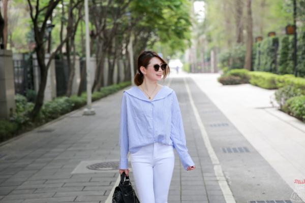 【穿搭】韓貨。艾蜜春漫遊,用白色單品穿出清爽休閒感吧~