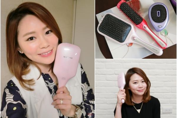 【3C】日本必買。KOIZUMI音波磁氣美髮梳,抑制靜電,頭髮不再毛躁打結(影音)