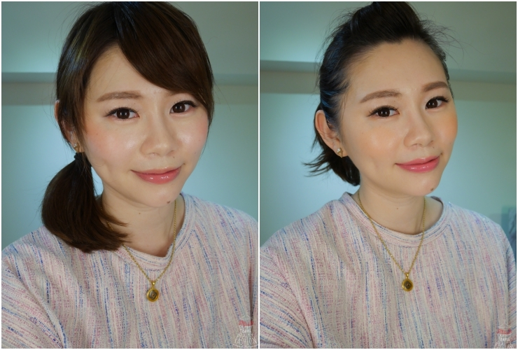 【妝容】溫柔粉 x 活力橘,兩種實用夏妝分享。CHIC CHOC小惡魔氣墊PongPong頰彩