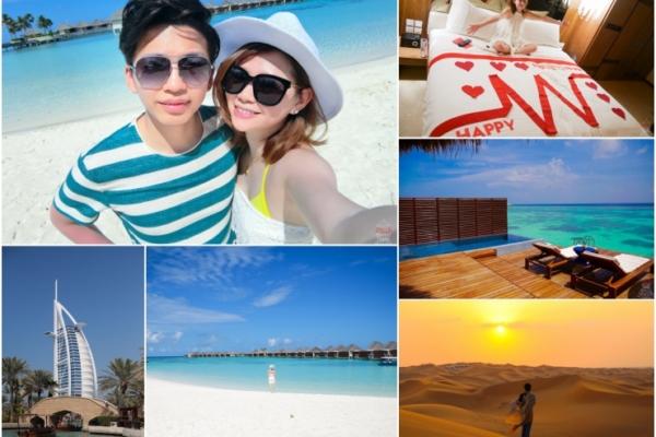 【蜜月】我們的夢幻奢華雙城蜜月。杜拜+馬爾地夫11日總行程分享