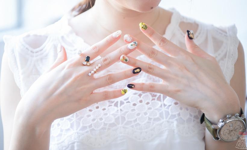 【指彩】夏季最愛鳳梨金旺來,韓系帶點小個性的光療指彩