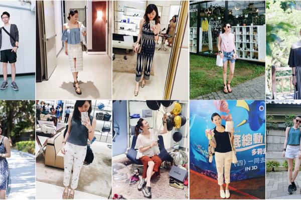 【Daily Outfit Recap】7月2016,每日私服穿搭回顧(更新完畢!!)