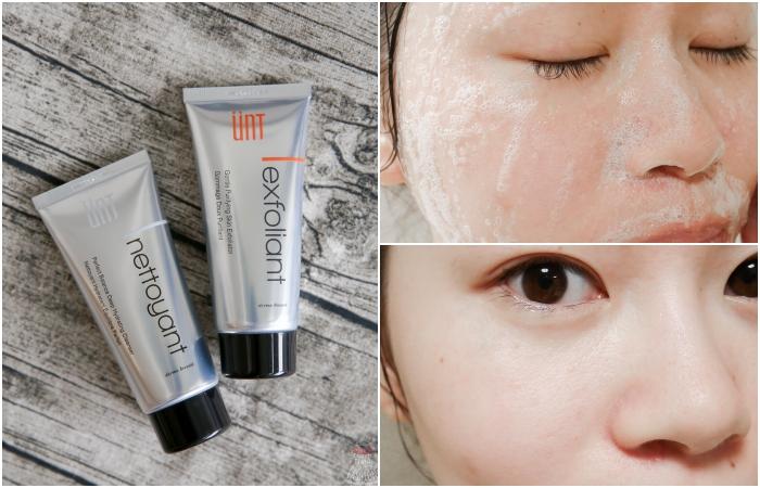 【潔顏】敏感肌小資女必備。溫和洗臉去角質,不刺激又平價~UNT氨基酸潔顏霜&潔顏去角質凝膠