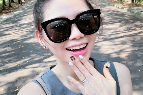 【Nail】超好搭的大理石光療指甲,我是大理石控無誤(笑)