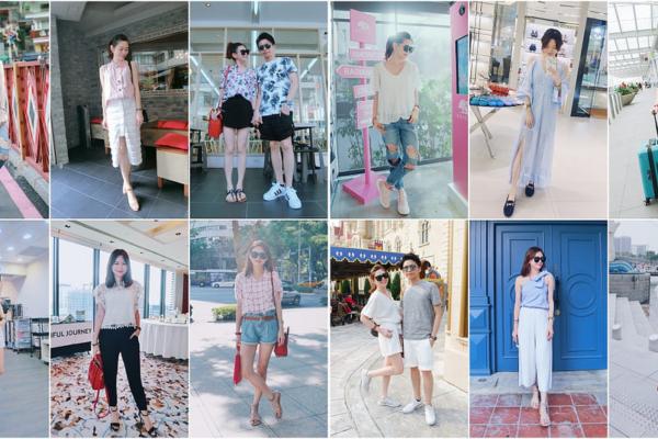 【Daily Outfit Recap】8月2016,每日私服穿搭回顧(更新完畢!!)