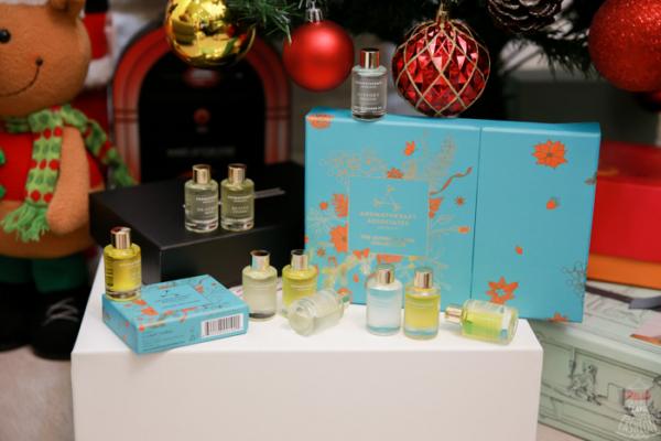 【香氛】在Espace Beauté找到最棒聖誕節禮物:英國皇室御用芳療AROMATHERAPY ASSOCIATES極致璀璨珠寶盒