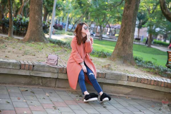 【穿搭】韓貨艾蜜。CP值超高的80%磚橘羊毛大衣,就用高彩度溫暖冬季吧