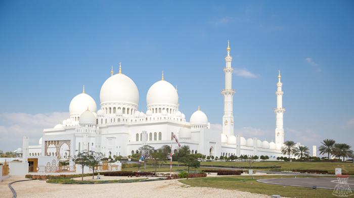 【蜜月】阿布達比必遊:純白絕美的大清真寺Sheikh Zayed Grand Mosque