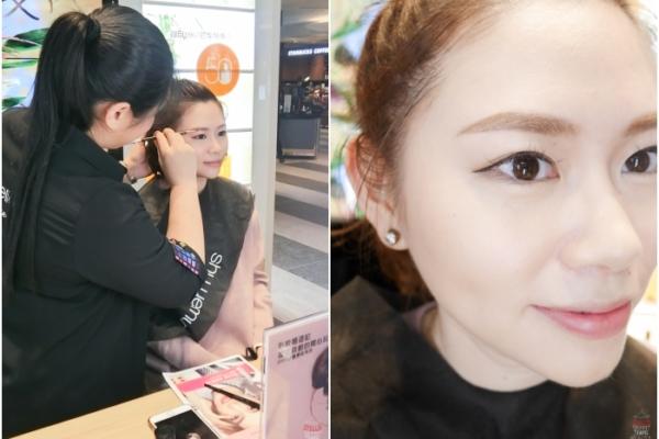 【教學】新年就要訂製全新開運眉,一次學會最適合自己的3D立體眉,植村秀春妝塑眉服務體驗