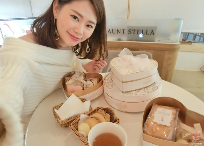 【LOVE】女孩最想收到的夢幻手工餅乾禮盒:Aunt Stella,喜餅/情人節禮物/彌月禮盒都好讚!