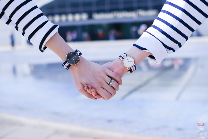 【Daniel Wellington】DW手錶簡單DIY換錶帶教學~尼龍錶帶太長變美秘訣(影音)