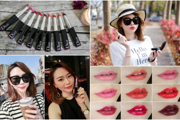 【唇彩】第一支筆狀漆光唇釉:Dior迪奧癮誘超模漆光唇釉,超輕盈顯色!