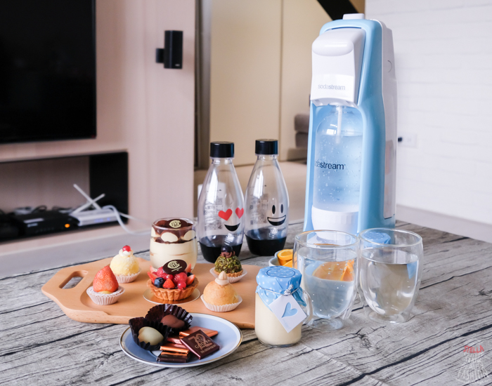 【Life】Sodastream氣泡水機推薦(Jet Pastel Blue蔚藍海洋),輕鬆在家跟姐妹來場夢幻下午茶