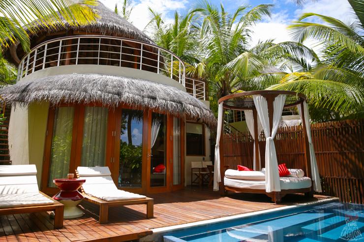 【馬爾地夫五星級飯店推薦】蜜月必住W Retreat & Spa Maldives(沙灘屋房間篇)