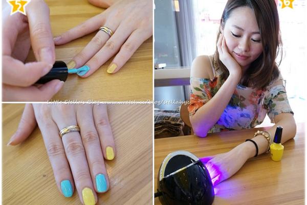 【指彩】在家也能便宜簡單做光療指甲!!~UNT嬌滴滴光療指彩新上市