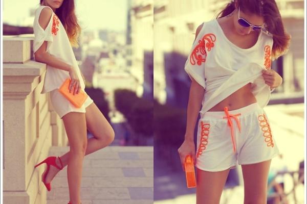 【穿搭靈感】夏日就是要純白,歐美街拍10套白色調穿搭分享