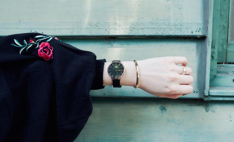 【DW錶】用最便宜價格,立刻擁有最新黑金屬錶帶Classic Petite Ashfield(Daniel Wellington)