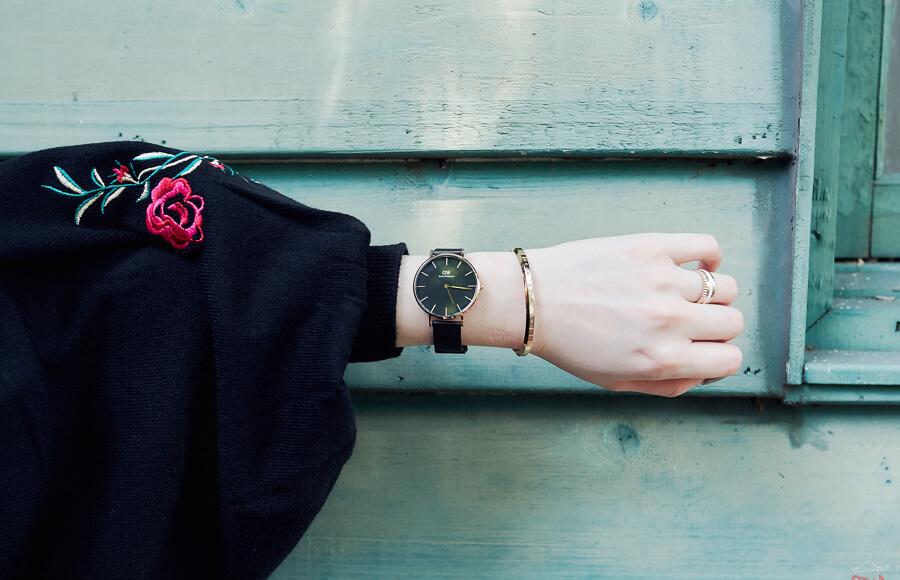 【DW錶】官網輸入折扣碼dw520用最優惠的價格,立刻擁有最新DW黑金屬錶帶Daniel Wellington-Classic Petite Ashfield