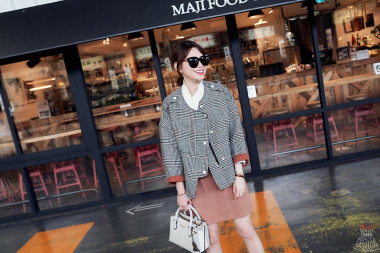 【穿搭】韓貨艾蜜十月號,跟上Pantone秋冬時尚色吧