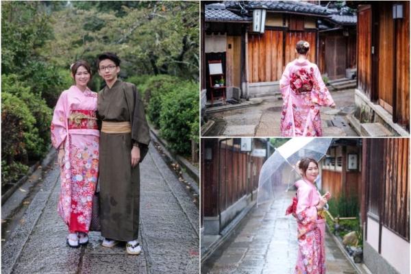 【京都和服推薦】櫻京和服質感超好,會講中文,我穿的這件振袖和服瘋狂被稱讚呀!