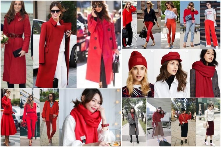 【農曆新年】開運喜氣紅色怎麼穿?簡單比例穿出紅色時尚感!