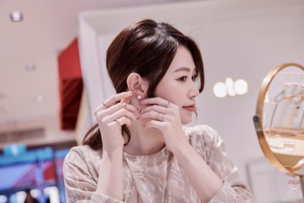 【輕珠寶】日本女生超愛的精緻輕珠寶ete,優雅多層次搭配,有超多耳夾多way變化唷!