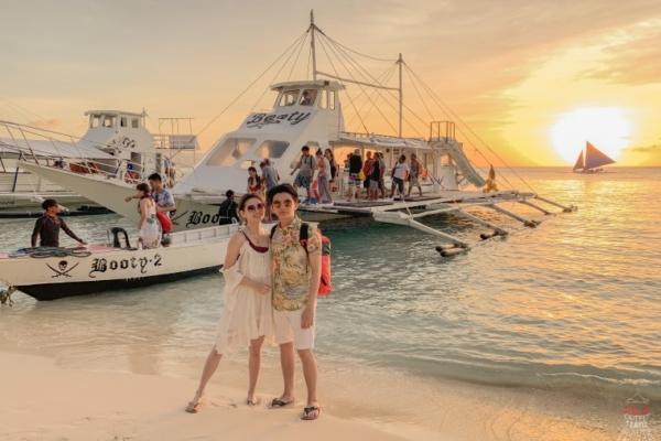 【Boracay長灘島】氣氛超棒超歡樂的黃昏海盜船&Bora SPA金箔按摩