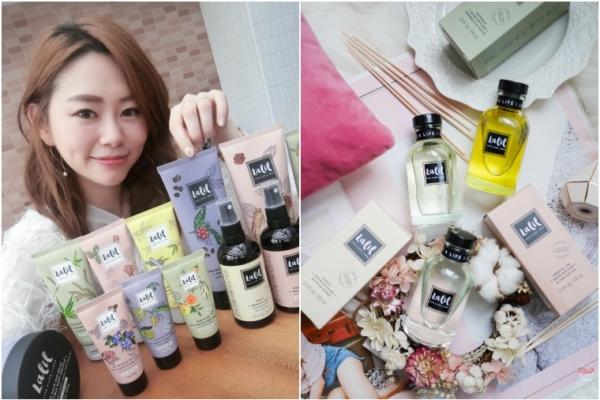 【曼谷】泰國文青天然保養品牌Lalil,香氛療癒抒壓,打造平價小清新風生活風格