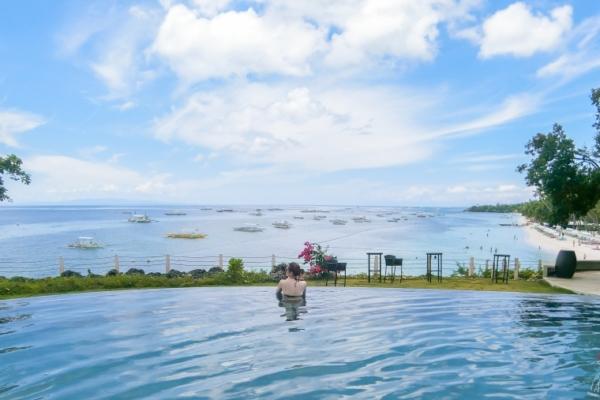 【宿霧/薄荷島飯店】Amorita Resort Bohol阿莫里塔度假村,夢幻景觀無邊際泳池,超美超放鬆!
