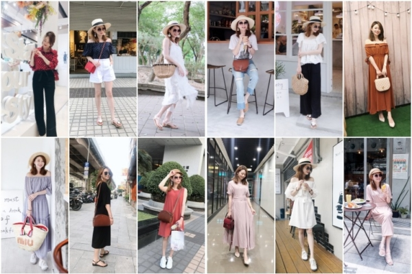 【私服穿搭回顧】5月2018,夏日洋裝通通出動吧!