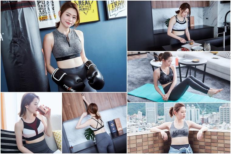 【運動內衣】Mollifix瑪莉菲絲Active+系列運動Bra,時尚感滿分,舒適美背讓運動也美美的~