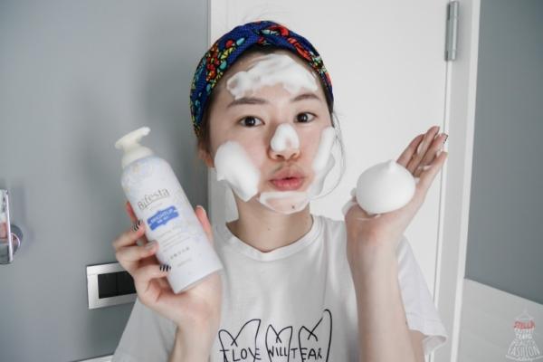 【洗臉】日本藥妝超夯的Bifesta碧菲絲特碳酸泡洗顏,濃密Q彈碳酸泡洗出好膚質